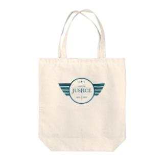 ハイデッカー長官(カラフルな) Tote bags