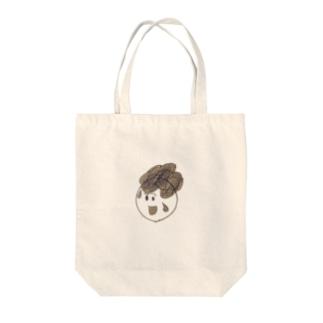 天パの子 Tote bags