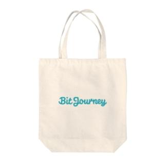 Bit Journeyロゴ Tote bags