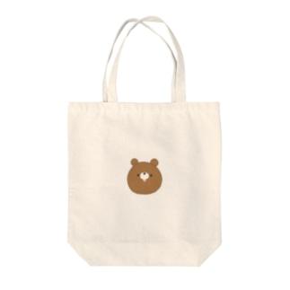 ぺろくま【ちゃ いっぴき】 Tote bags