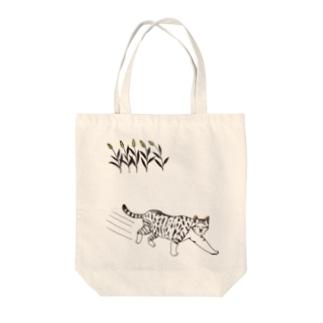ノラ猫 Tote bags