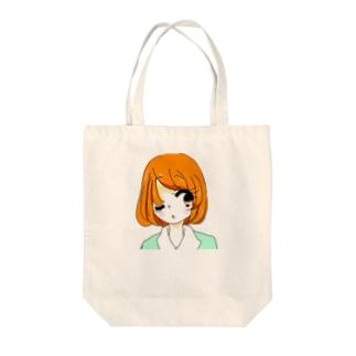 ウィンクキラー Tote bags