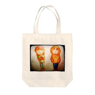 ぶらざー Tote bags