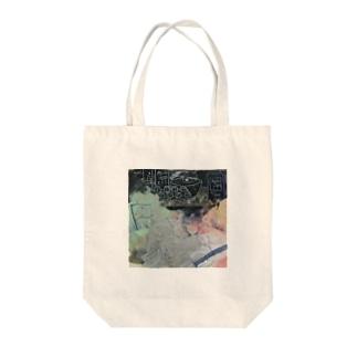女の子とバク Tote bags