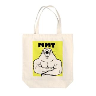 屈強なマーモット Tote bags