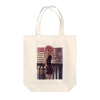 歩道橋 Tote bags