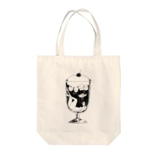クリームソーダちゃん Tote bags