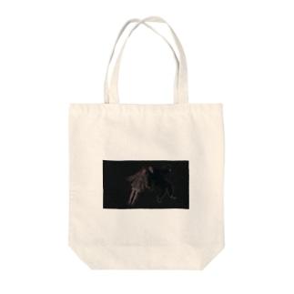 dot.cinema_restless Tote bags