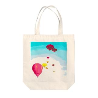 岩出山の気球 Tote bags