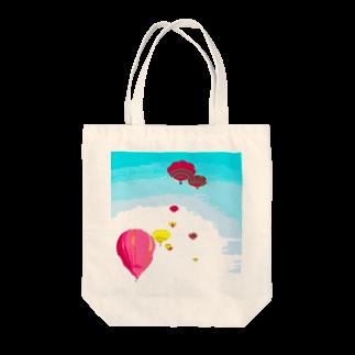 Danke Shoot Coffeeの岩出山の気球 Tote bags