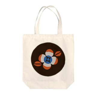 RETRO POP FLOWER Tote bags