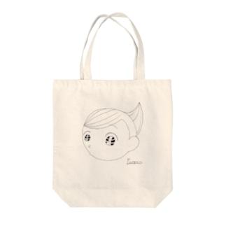 おくらばくん Tote bags