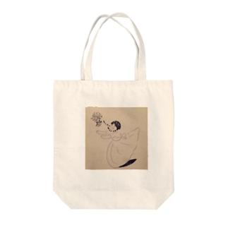 おっちょこちょいな花嫁 Tote bags
