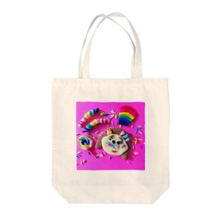 スプリンクルちゃん Tote bags