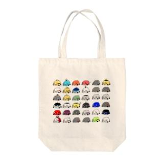 【最新版】くるまさんたち。 Tote bags