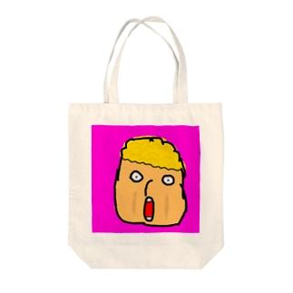きんぱつくん! Tote bags