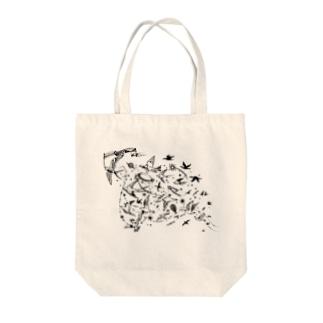 wataridori bag Tote bags
