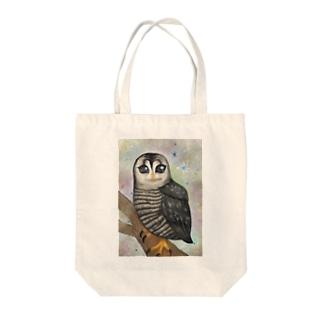純粋なフクロウ Tote bags