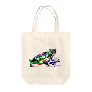 Frog Tote bags
