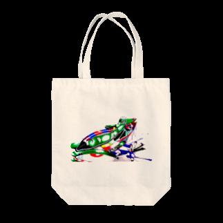 肋骨のFrog Tote bags