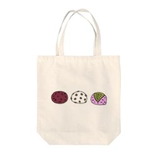 和菓子 おもち  おもっちーず Tote bags