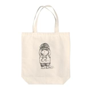 帽子ねこ Tote bags