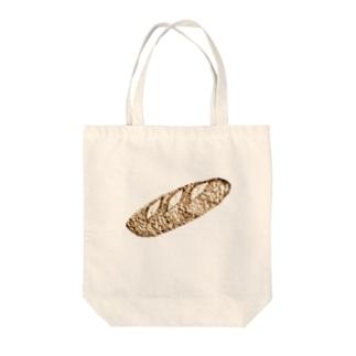 フランスパン Tote bags