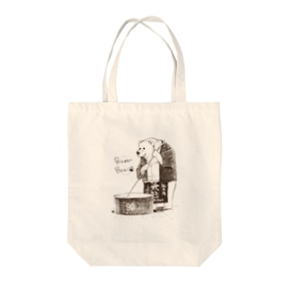Brewer Bear Tote bags
