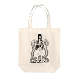 ちぇんちぇんのAIRIA★01 Tote bags