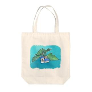 卍槓に生える植物 Tote bags