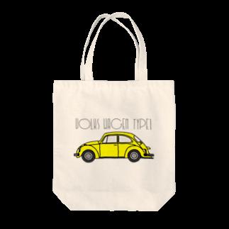 JOKERS FACTORYのVOLKSWAGEN TYPE1 Tote bags