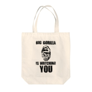BIG GORILLA IS WATCHING YOU Tote bags