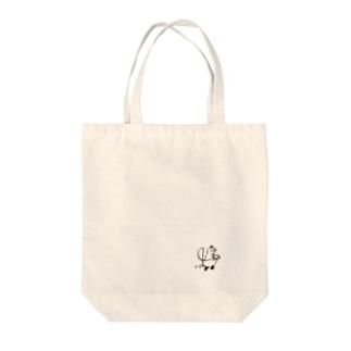 ぴよくる Tote bags