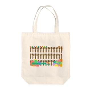 アイラブ♥マカロン Tote bags