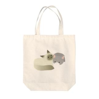 ハル―とマローン Tote bags