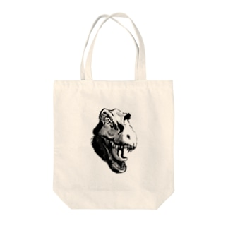 やばいティラノさんシリーズ Tote bags