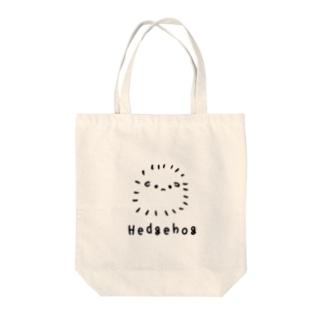 無色のハリネズミ Tote bags