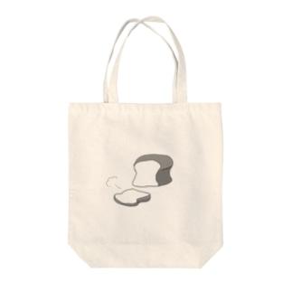 しょくぱんカット Tote bags
