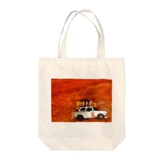ソビエトの車 Tote bags