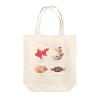 魚いろいろ Tote bags