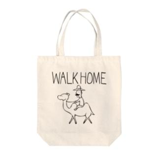WALK HOME トートバッグ
