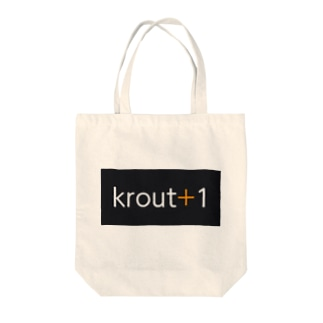 krout+1 Tote bags