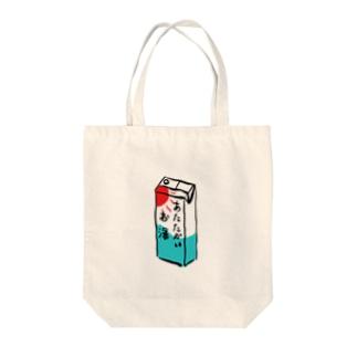 お湯 Tote bags