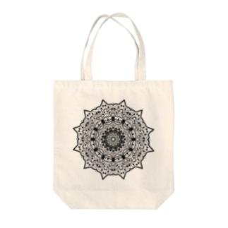 曼荼羅乃型一 Tote bags
