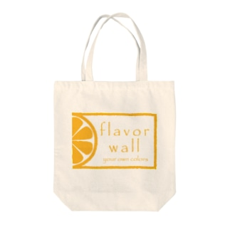 flavor wall Tote bags