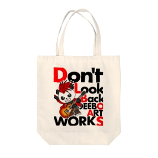 Don't Look Back Tote bags