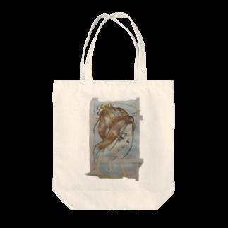 卯汰の天界2 Tote bags