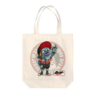 もんすたーgang Tote bags
