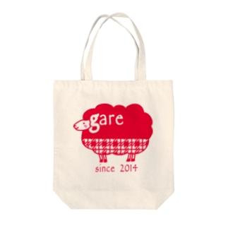 ガレリー 赤 Tote bags