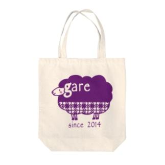 ガレリー グレープ Tote bags